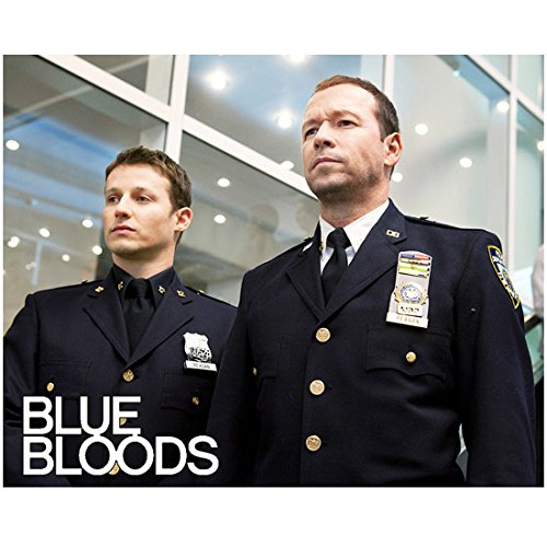 Blue Bloods (2010 - ) 8 Inch x10 Inch Photo Will Estes & Donnie Wahlberg Both in Uniform kn (Best Blue Bloods Episodes)
