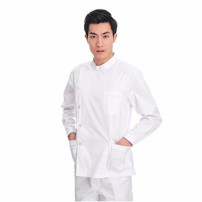 Xuanku Esteticista Ropa De Trabajo, Uniformes De Laboratorio, Médicos, Uniformes, Batas Blancas