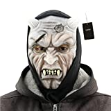 Ladyker Novelty Halloween Cosplay Costume Party Latex Mask Movie Props for Adults (Yasha Mask)