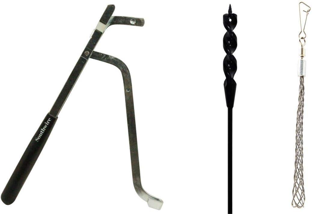 Southwire Tools /& Equipment FABK9//16X54 Flex Auger Drill Bit Kit 9//16x54