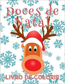 Doces De Natal Livro De Colorir Livro De Colorir 6 Anos
