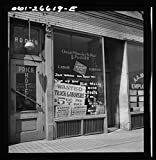 Vintography Reproduced Photo of Chicago, Illinois. Railroad Help Wanted Signs in Windows of an Employment Agency Near The Union Station 1943 Delano C Jack 24a