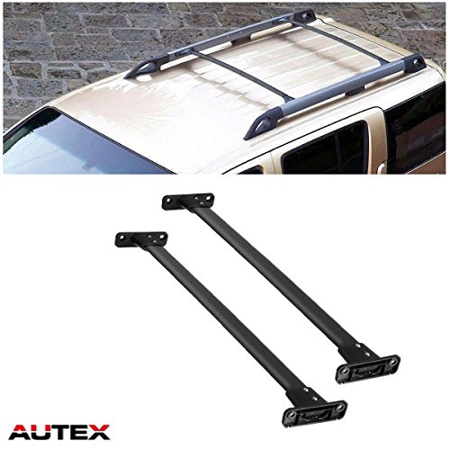 AUTEX Roof Rack Cross Bar Compatible with Nissan Pathfinder 2005 2006 2007 2008 2009 2010 2011 2012 Crossbars Roof Top Cargo Carrier Racks