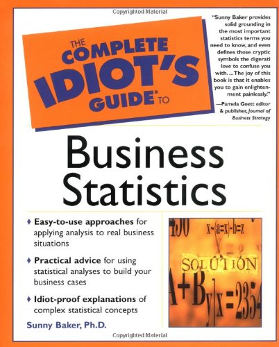 Download The Complete Idiot's Guide to Business Statistics pdf epub