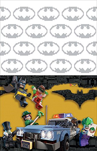 "American Greetings Boy's Lego Batman Plastic Table Cover, 54"" x 96"" at Gotham City Store"
