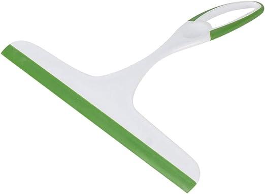 Práctico limpiacristales de Vidrio, jabón, Limpiador, Cuchilla de Silicona, Ducha para el hogar, baño, Espejo, raspador, limpiaparabrisas de Coche, Verde-Verde: Amazon.es: Hogar