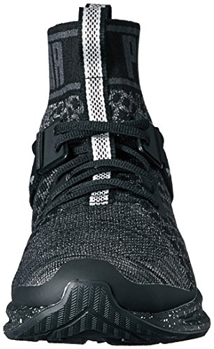 Metal Cross Silver Puma WN's asphalt puma Trainer Evoknit Women's Black Puma Shoe Ignite qwOxTpaxnt