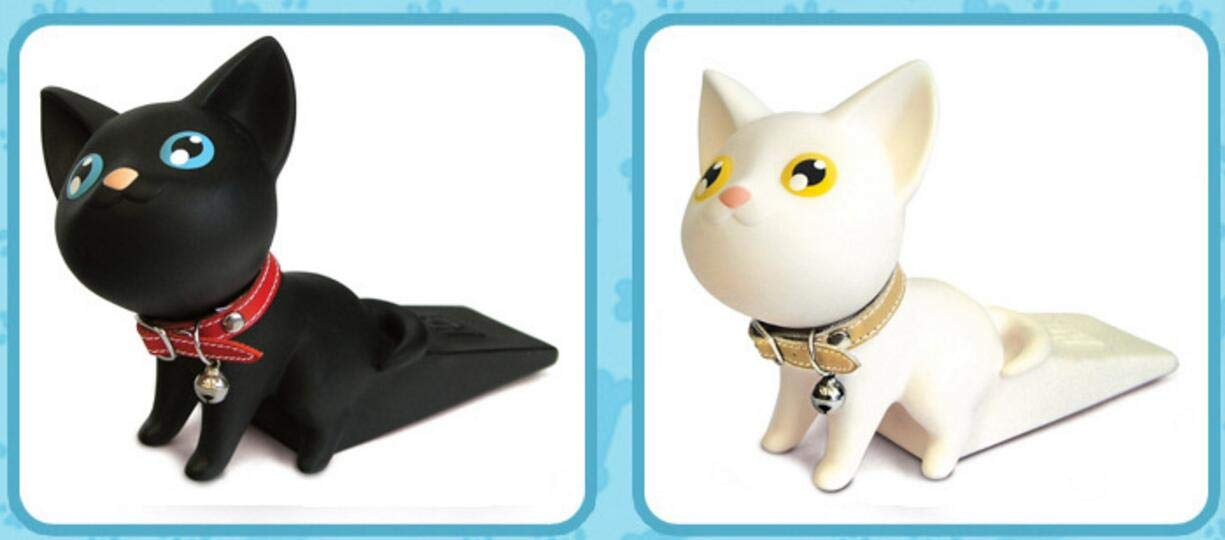 Linyena Cartoon Door Stopper Wedge Cute Cat Door Stoppe Children Door Protector Prevent Doorstops