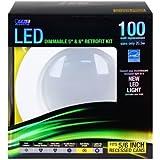 Feit LEDR56/827 1245 Lumen 2700K 5 & 6 Inch Dimmable Retrofit Kit - 100W EQUIVALENT