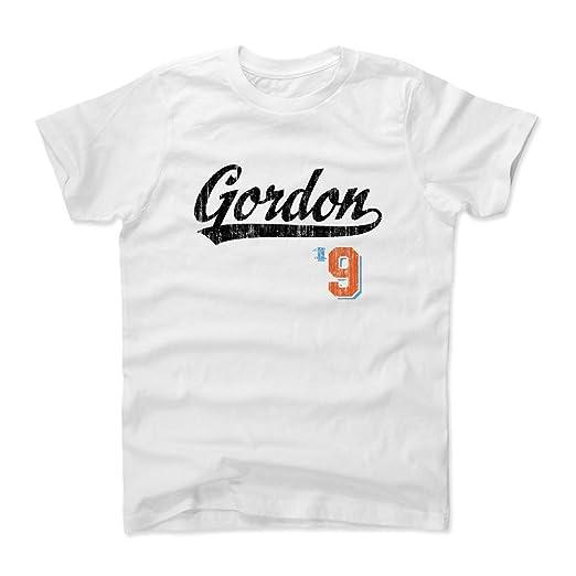 official photos cea30 c6c66 Amazon.com: 500 LEVEL's Dee Gordon Youth & Kids T-Shirt 10 ...