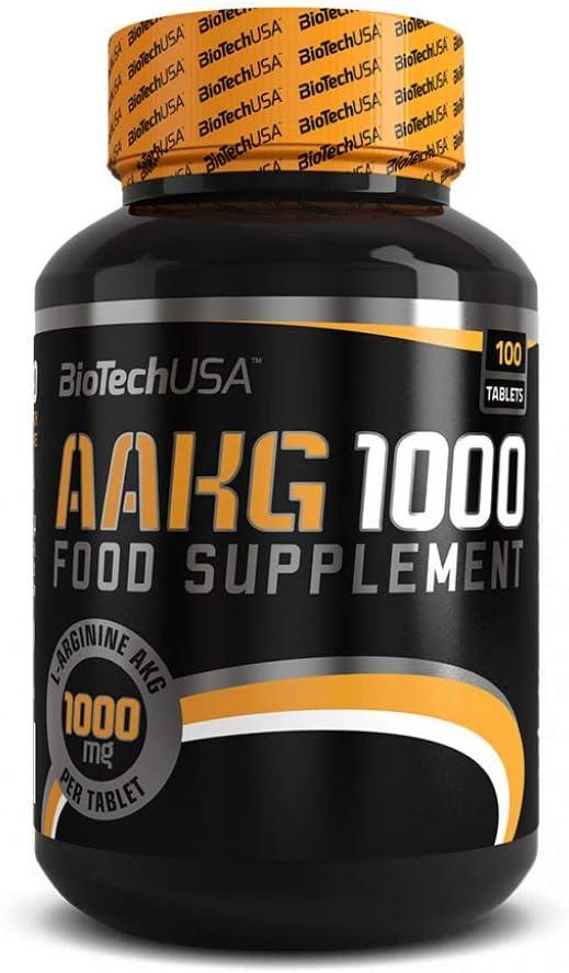 Biotech USA Aakg 1000 Nitrox y Energizante - 1000 gr