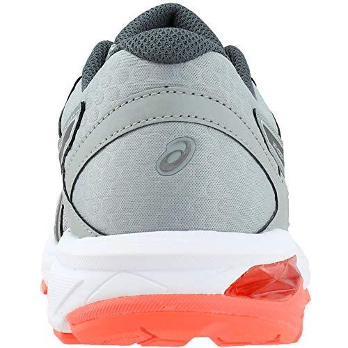Asics - Frauen Gt-1000 6 (D) Schuhe, 39 C/D EU, Mid Grey/Carbon/Flash Coral