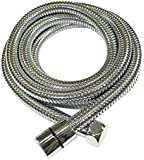 KES I3300 Extra Long Replacement Shower Hose 3-Meter (118-Inch) Stainless Steel, Polished Chrome