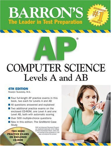 Barron's AP Computer Science with CD-ROM (Barron's AP Computer Science (W/CD))