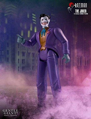 2016 DC GENTLE GIANT BATMAN ANIMATED JOKER 12″ JUMBO ACTION FIGURE MIP NEW
