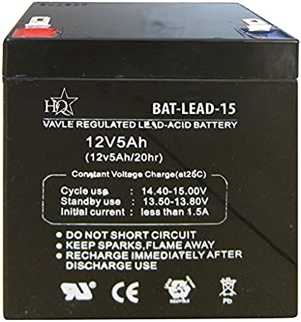 Skytronic Batterie au plomb Rechargeable pour systèmes