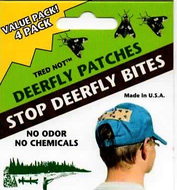- 12 Deerfly Patches TredNot Deer Fly Strips