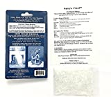 Instant Snow To Go - Makes 3 Cups - Includes Fairys Frost Glitter to Add Sparkle & Directions Card