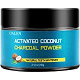 Activated Teeth Whitening Charcoal Powder Natural, Organic Coconut Activated Charcoal Teeth Whitening, Enamel Safe Teeth Whitener for Sensitive Teeth Gums (Black)