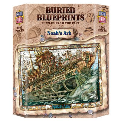 MasterPieces Buried Blueprints Noah's Ark Jigsaw Puzzle, 1000-Piece