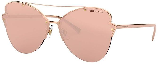 Amazon Com Tiffany Co Tf 3063 Paper Flowers Gradient Sunglasses