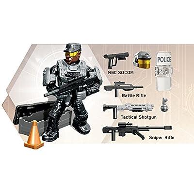 Mega Construx Halo NMPD Customizer Pack: Toys & Games