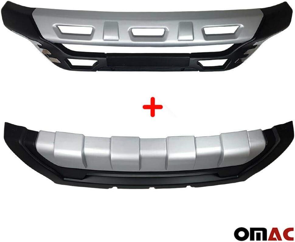 Hinten Hyundai ix35 Unterfahrschutz Spoiler Rammschutz Diffusor ABS Set Vorne