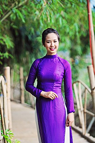 LAMINATED 24x36 inches Poster: Vietnam Long Dress Vietnamese