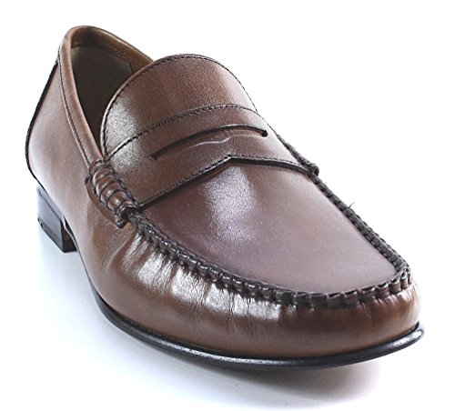 Lloyd Shoes Ercot Penny Loafer Shoe Brown Brown