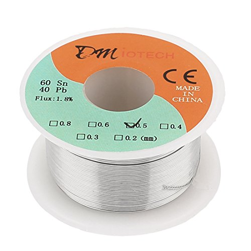 0.5mm 60/40 Tin lead Rosin Core Solder Wire Reel - 9