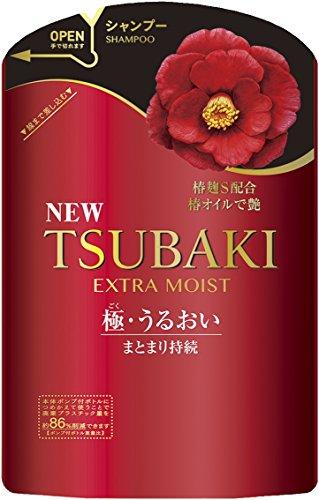 Price comparison product image Shiseido Tsubaki Extra Moist Shampoo Refill Pack 345ml