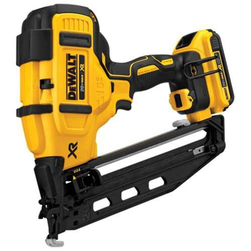 DEWALT DCN660D1 Cordless Angled Finish Nailer - Degree Hook Angle 20