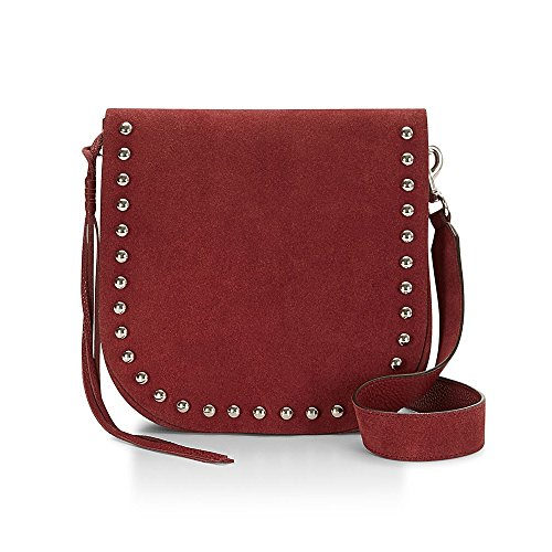 Rebecca Minkoff North South Unlined Messenger Crossbody, Tawny Port Red