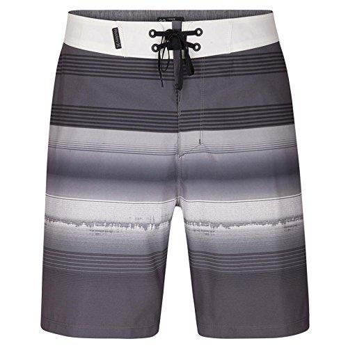 Hurley AA9755 Men's Phantom Gaviota Short, Dark Grey/White - 28 (Hurley Shorts White)
