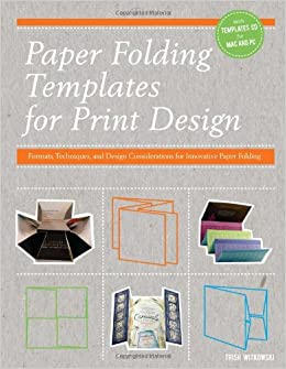 Buy Paper Folding Templates For Print Design Formats Techniques