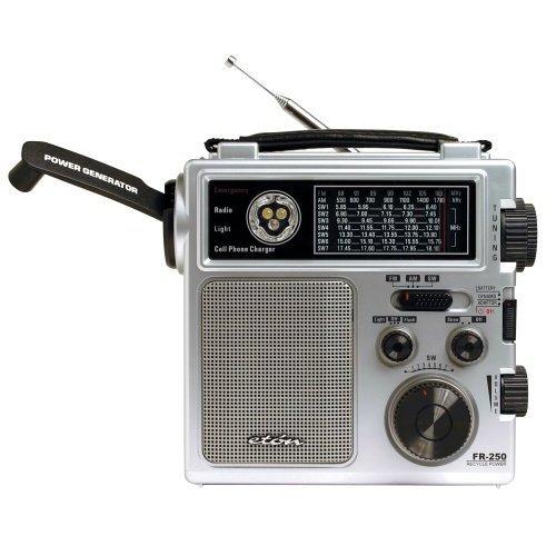 Eton FR250 緊急クランクラジオ EFR250  シルバー B0009IIE5G