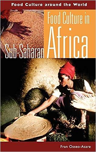 Food Culture in Sub-Saharan Africa