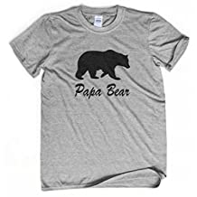 Papa Bear Shirt New Dad Tshirt Awesome Papa Tee Best Daddy Ever