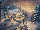 Ceaco Thomas Kinkade Country Christmas Homecoming Puzzle (1000 Piece)