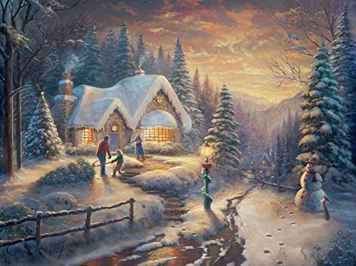 Ceaco Thomas Kinkade Country Christmas Homecoming Puzzle (1000 Piece)