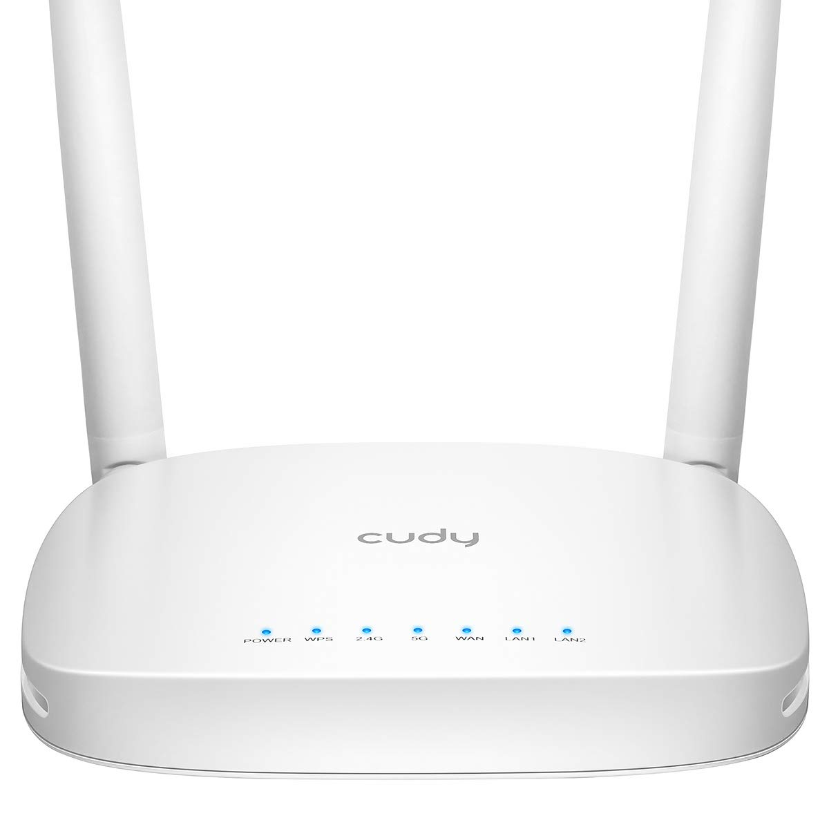 Cudy AC1200 Dual Band Smart WiFi Router, 300 Mbps (2.4GHz)+867 Mbps (5GHz), Guest Network, QoS, Compatible with Amazon Alexa, Range Extender Mode, IPV6 (WR1000) by Cudy