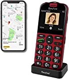 Easyfone Prime-A4 Unlocked SIM-Free Senior Mobile Phone, GPS Big Button Hearing Aids Compatible Easy-to-Use Cell Phone…