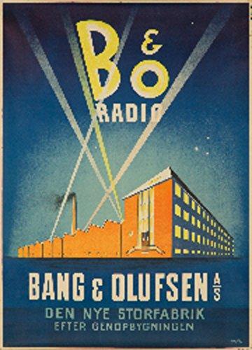 Bang And Olufsen Vintage Poster Artist Larsen C 1938
