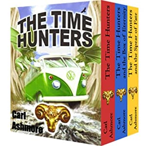 book cover of The Time Hunters Books 1 - 3