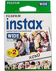 Fujifilm Instax Wide Film, White Twin Pack (20 Exposures)