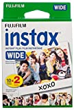 #10: Fujifilm instax Wide Instant Film, 20 Exposures, White, New Packaging