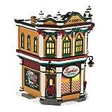 Department 56 Snow Village Sophia's Pizzeria Lit House, 7.48 inch