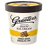 Graeter's - Handcrafted, French Pot Ice Cream - Cookie Dough Chocolate Chip, Pint (8 Count)