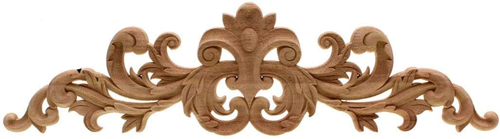 Timesens HOT Rubber Wood Carved Applique Retro Furniture Crafts Decor Wooden Letters Madera Legno Vintage Home Decoration 60X14cm