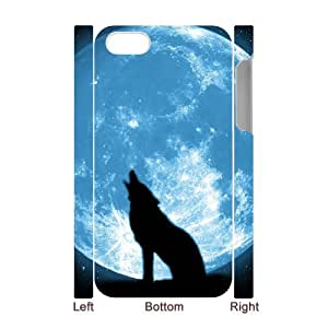 QWSPY Puppy Dogs Phone 3D Case For Iphone 4/4s